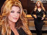 Dancing with the (shrinking) Stars! Svelte Kirstie Alley shows off her ever-decreasing frame at book signing