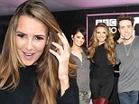 Girls behaving badly: Nadine Coyle swears live on air.... and tells listeners who don't like it 'to get out more'