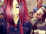 Are you reddy for this? Jersey Shore star Snooki dyes her hair 'Poison Ivy' red