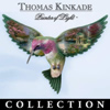 Thomas Kinkade Beauty In Flight Hummingbird Wall Decor Art Collection - First-of-a-Kind EXCLUSIVE Thomas Kinkade Art Decorated Hummingbird Wall Decor Brings Home the Jewel-like Serenity of Nature!