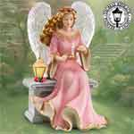 Thomas Kinkade Your Love Shines Upon Me Angel Figurine - Collectible Thomas Kinkade Angel the Ideal Mothers Day Gift! Collectibles Today Exclusive Limited to 2,006 Figurines!