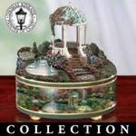 Thomas Kinkade Peaceful Moment Music Box Collection - Thomas Kinkade Music Boxes Showcase Inspirational Scenes of Serenity! Exclusive Limited-edition Heirloom Treasures!