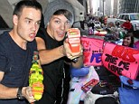 One Direction mania in New York as thousands of fans camp out for FIVE days to catch a glimpse of band ahead of Today show appearance