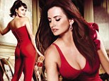 Painting the town red! Penelope Cruz shows off staggering curves in spell-binding Campari Calendar shoot