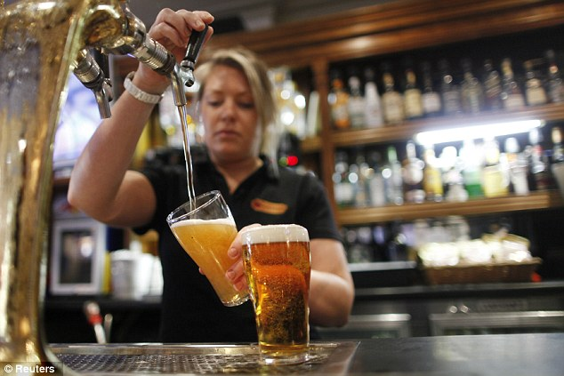 Drowning sorrows: Workers aren't the only ones feeling the strain - many bars have felt the downturn too