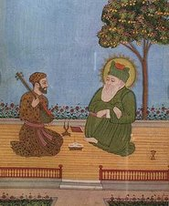 Hazrat Sultanji with Hazrat Ameer Khusro(?)