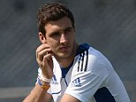 Sit this one out: England are unwilling to risk aggravating Steven Finn's injury
