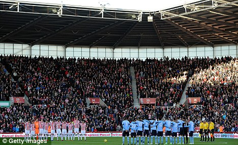 Expansion plans: Stoke want to increase the capacity at the Britannia Stadium to 30,000
