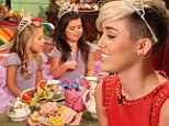 'We got to have the pouf!' Miley Cyrus shares plan for huge wedding dress with Ellen stars Sophia Grace and Rosie