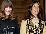 Alexa is a Bella Freud fan , pictured here in one of the designer's knits