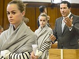 Kiss and make-up! Taryn Manning's assistant forgives her for 'punching and choking assault' - hours after actress is charged