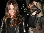 Mind the gap! Sofia Vergara gets a helping hand from her future husband as she struggles in sky-high stilettos