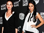 Under pressure! Vanessa Hudgens and Amber Heard feel the heat as they take rehearse and perform in 24 Hour Plays