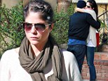 Breaking up is hard to do: Selma Blair and ex Jason Bleick have an emotional meeting at their lawyer's office