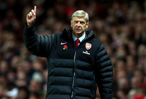 Plans: Arsenal manager Arsene Wenger wants to bolster his squad in the January transfer window