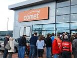 Gone under: Comet has gone into administration, so what now for those who bought extended warranties?