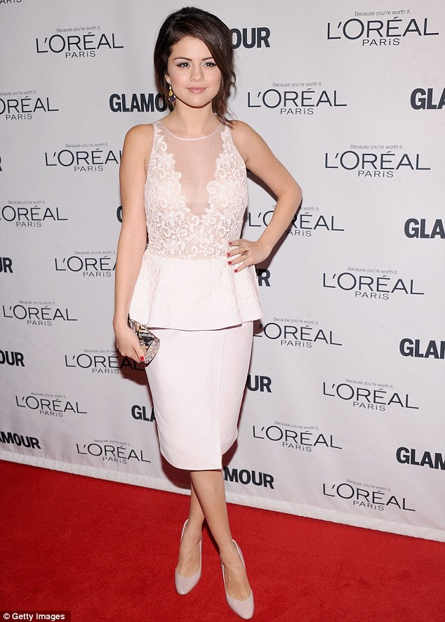 Showing Justin what he's missing: Selena Gomez showed Justin Bieber just what he was missing as she attended the 22nd annual Glamour Women of the Year Awards at Carnegie Hall in New York City on Monday