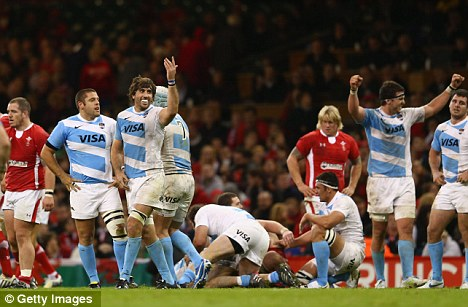Mauled by Pumas: Wales crashed to defeat at home to Argentina on Saturday