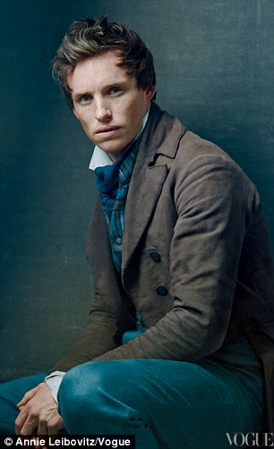 Dreaming a dream: 30-year-old Redmayne plays a brave and in love student while Russell Crowe is the unbending Inspector Javert