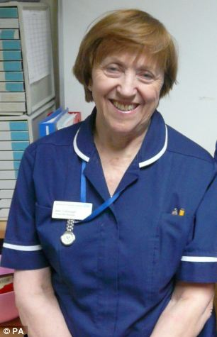 Caring Jean Colclough began working as a nurse at the age of 18 in 1956