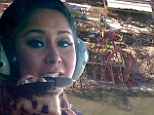 'Everything's gone!' Snooki's brought to tears as she takes helicopter ride over Jersey Shore ravaged by Hurricane Sandy