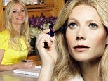 First look: As 'the writer' in the Max Factor campaign Gwyneth Paltrow has a simple, natural look