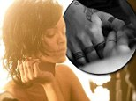 Tat's not real! Rihanna's fake tattoos revealed in behind-the-scenes footage of her new music video Diamonds