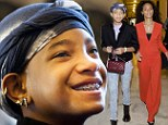 Growing up so fast! Willow Smith flashes her new braces while watching Jada Pinkett Smith speak on Capitol Hill