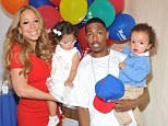 She really is a diva! Nick Cannon reveals wife Mariah Carey leaves nappy changing duties to him