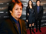 A family affair: Sir Paul McCartney flies to New York to support his son in-law's first film