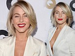 Julianne Hough attending the 2012 GQ Man of the Year party in Beverley Hills, California.