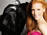 'I like to be wooed': Jessica Chastain reveals she's a romantic at heart as she poses in artistic magazine shoot