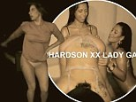 She's a bad girl! Lady Gaga courts controversy as she is spanked by a woman in teaser clip for new video Cake