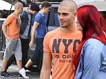They're not exactly One Direction! Brit boyband The Wanted 'mobbed' by only a few fans as they try and break the States