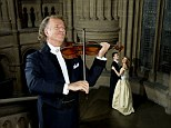 Sweet music: Rieu's new album takes pop standards and reworks them for his orchestra.