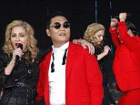 Never one to miss a trend! Madonna invites PSY for Gangnam Style duet on stage in New York