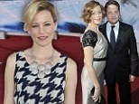 Baby joy: Elizabeth Banks has welcomed her second child - a boy named Magnus