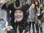 Hooked on panto? David Hasselhoff poses in his costume as he prepares to take over Manchester in Peter Pan pantomime