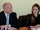 Mr Hague has been praised for his staunch support for victims of sexual violence oversea
