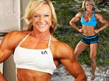 Bodybuilder Carmen Knights is a 39-year-old grandmother