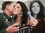 Jill Kelley and her twin sister, Natalie Khawam, have been flung into the public eye as their questionable connections with the military's top brass have emerged - a far cry from their humble beginnings.