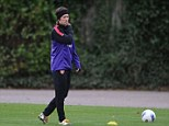 Back: Tomas Rosicky has returned to training with Arsenal