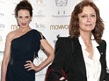 Susan Sarandon and Andie MacDowell defy their years on the red carpet at the Power Women Awards Gala 2012