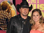 'Everything is fine' (just don't mention the cheerleader)! Jason Aldean says marriage is going strong despite tryst with Brittany Kerr