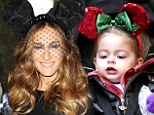 Like mother, like daughter! Sarah Jessica Parker's twin girl Tabitha wears giant Minnie ears after actress dons similar pair the night before