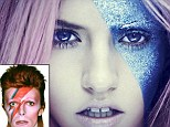 Is Charlotte Free's space age makeover inspired by Ziggy Stardust?
