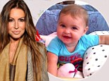 Tiger Woods's former mistress Rachel Uchitel proudly shares picture of her growing cub Wyatt at six months old