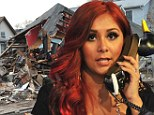 The emotional cast of MTV's Jersey Shore man the duck phone to raise money for the devastated area that made them famous