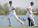 Digging in: England will need Alastair Cook and Kevin Pietersen to stay in the middle and score runs to get England back in the game