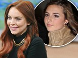 Lindsay Lohan insists she didn't know she had a half sister as she promotes new movie Liz & Dick on Good Morning America